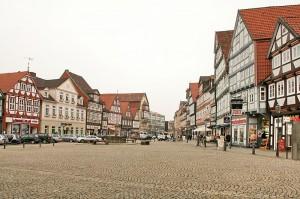 Die Altstadt von Celle