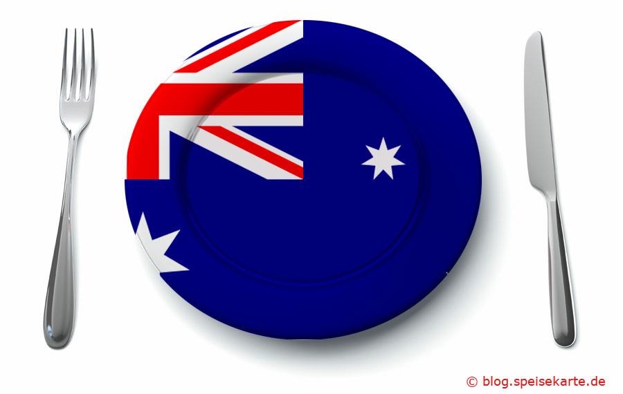 Was kommt auf den Teller in Australien?