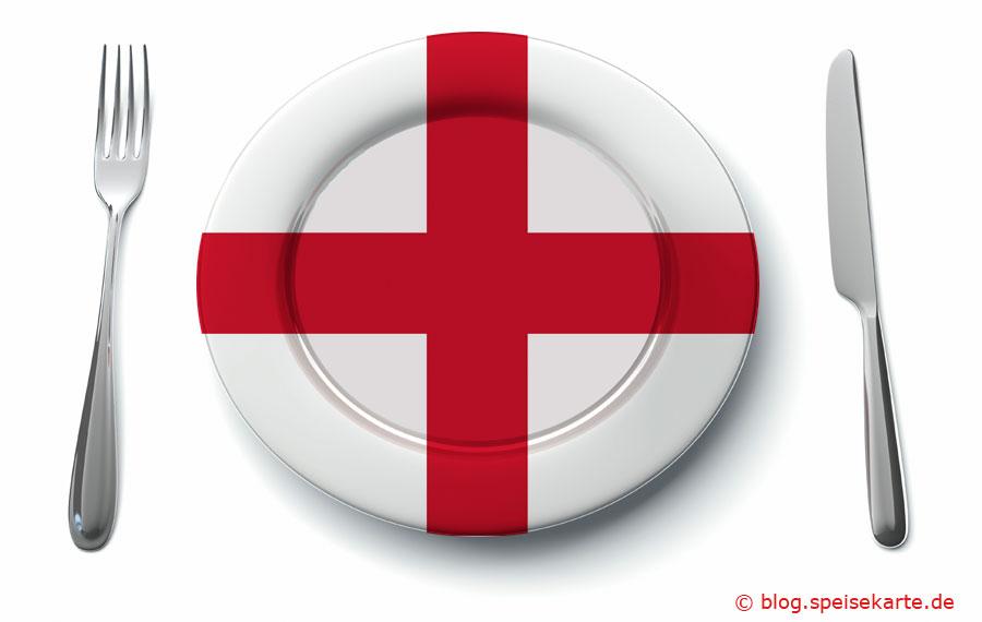 Was kommt auf den Teller in England?
