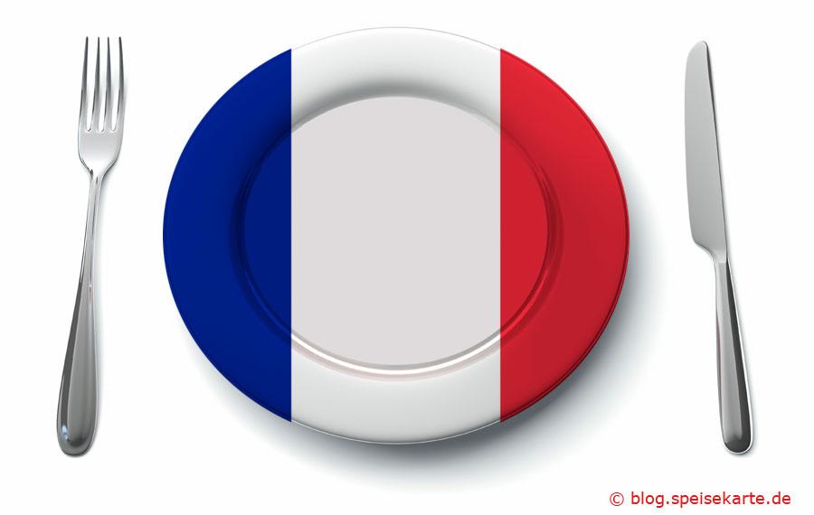 Was kommt auf den Teller in Frankreich?
