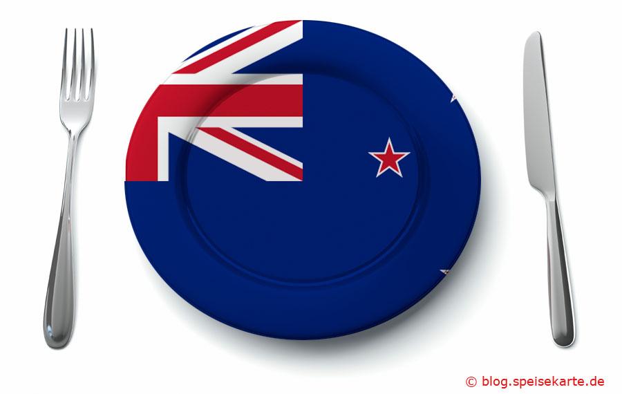 Was kommt auf den Tisch in Neuseeland?