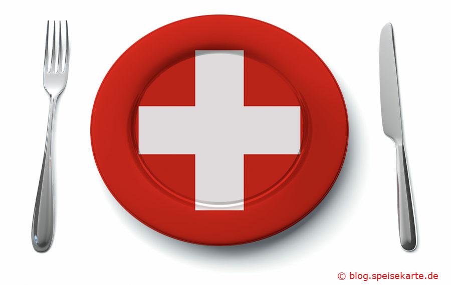 Was kommt auf den Teller in der Schweiz?