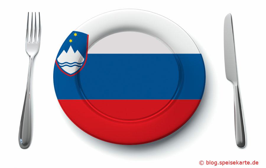 Was kommt auf den Teller in Slowenien