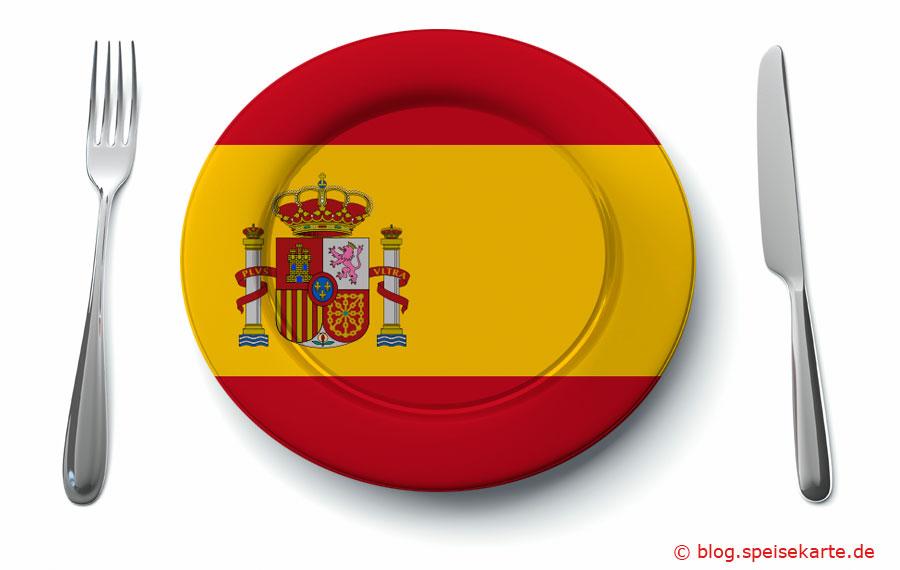 Was kommt auf den Teller in Spanien?