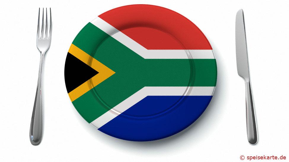 Was kommt auf den Teller in Südafrika?