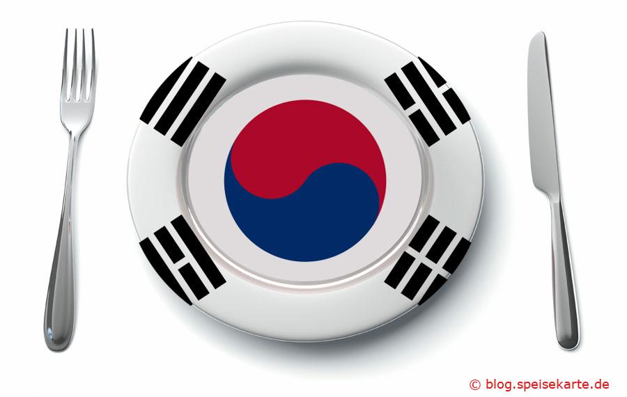 Was kommt auf den Teller in Südkorea?