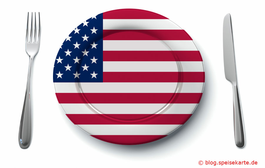Was kommt auf den Teller in den USA?