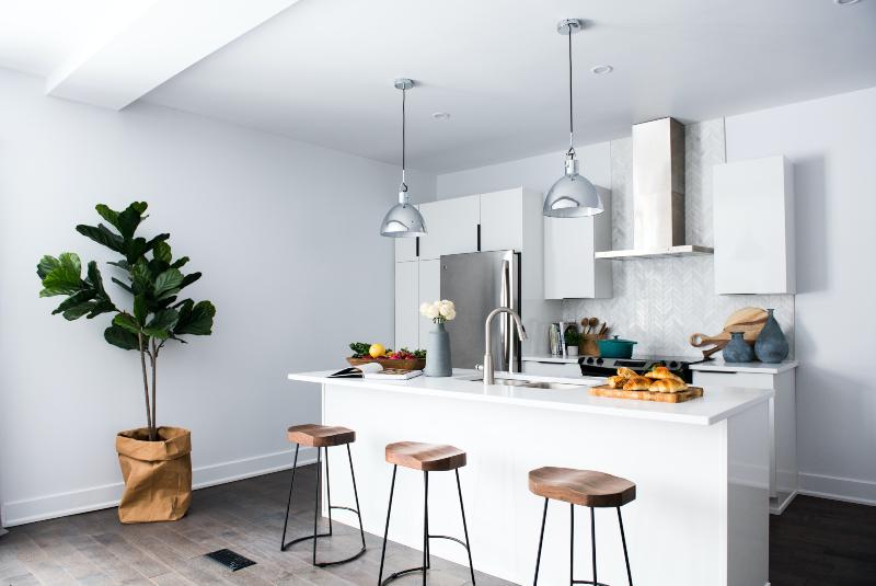 So plant man eine moderne Küche